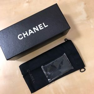 New Authentic Chanel Glasses Pouch Box Cloth
